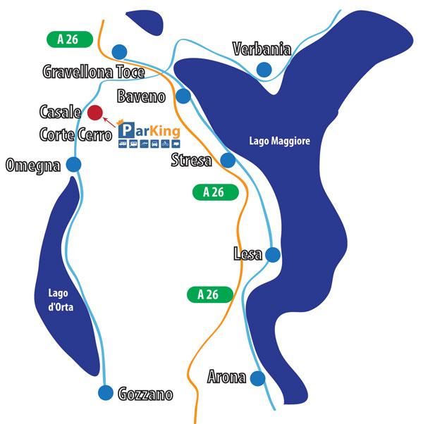 Lago Maggiore Karte.Parking Lago Maggiore Mappa